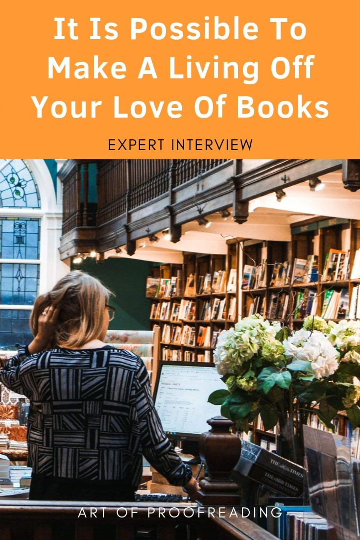Is is possible to make a living off your love of books. In this interview we talk to a librarian who is also a proofreader and editor for indie writers. She gives us a review and shares her experience in the online proofreading and copyediting course, High-Level Proofreading Pro.