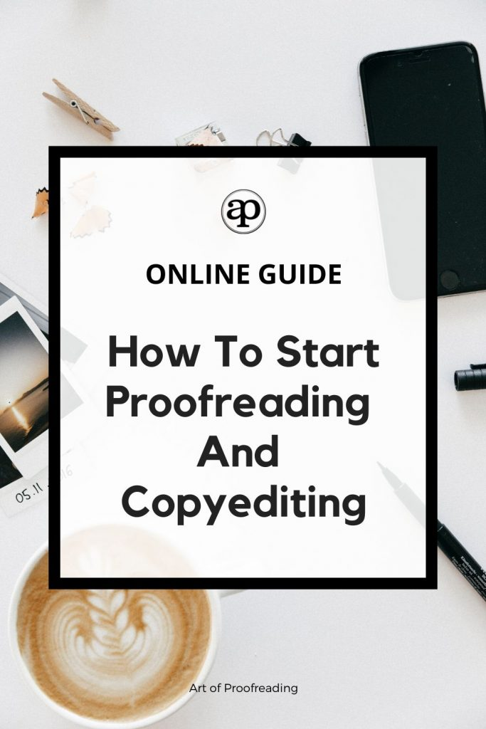 This online guide will give you essential lessons and advice on how you can start proofreading and copyediting professionally. Taught by an editor, you'll discover what it takes to start and keep going!
