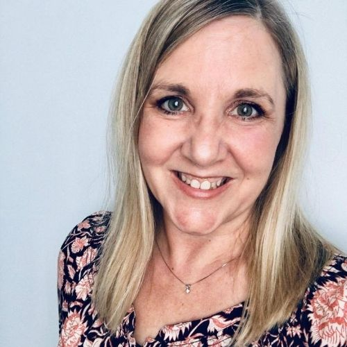 Heather Mitchell runs a proofreading and editing business from home.